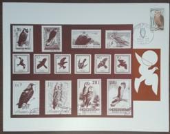 FDC 1972 - YT N°1694 - PROTECTION DE LA NATURE / GRAND DUC - PARIS  - Sur Document - 1970-1979