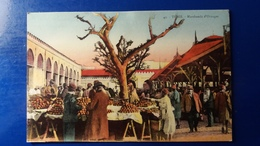 TUNISIE TUNIS  1936 MARCHANDS D'ORANGES  MARCHE - Tunisia