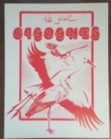 FDC 1973 - YT N°1755 - PROTECTION DE LA NATURE / CIGOGNE - STRASBOURG - Sur Document SAINSON - 1970-1979