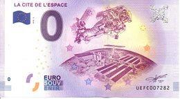 Billet Touristique 0€ La Cité De L'Espace 2018-2 (31) - EURO
