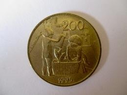 San Marino 200 Lire 1995 - Saint-Marin