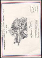 DIPLOME    SECRETARIAT  D ETAT  AUX ANCIENS   COMBATTANTS     1945   1954 - Documents