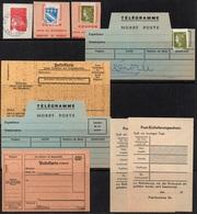 ERINNOPHILIE - PHILATELIE / 3 TIMBRES & 6 FORMULES DE POSTE ENFANTINE - KINDERPOST (ref 5523) - Commemorative Labels