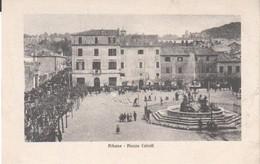 Roma-albano Laziale-grottaferrata- Fiera-piazza Cairoli-viagg.1909-cart. Di 109 Anni - Italie