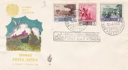FDC. PESAGGI POSTA AEREA. SAN MARINO 1950- BLEUP - FDC