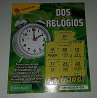 Billet De Loterie Instantanée.Portugal - Billets De Loterie