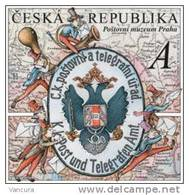 ** 652 Czech Republic Post Museum 160 Years Of The First Stamps Of Austria 2010 - Post