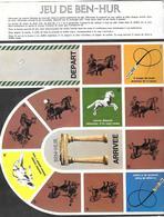 Jeu De Ben-Hur (publicité Médicale Kalixan ) - Non Classés