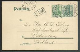 Deutsches Reich Postkarte 1905 Stempel Emmerich - Ohne Zuordnung
