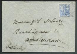 Deutsches Reich 1901 Envelop Hotel Bristol U.d. Linden Mit Marke Michel 57 - Ohne Zuordnung