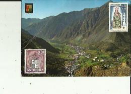 Andorre  Walls D'Andorra  Vue Generale Des Escaldes Et Andorra La Vella - Andorra