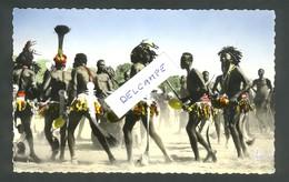 "New Hebrides - Pentecost Dancers Celebrating The Famous ""Big Jump"" Ceermony - Vanuatu"