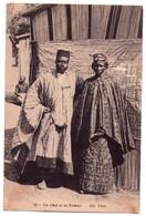 2800 - Ethniques Et Cultures D'Afrique - Un Chef Et Sa Femme - N.D. Phot. - N°13 - - Afrique
