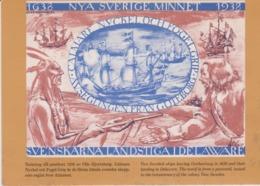 Indien - Indian - Indios - Amerindiens -1638  LES SUEDOIS  AU DELAWARE - SVERIGE - Indiens De L'Amerique Du Nord