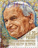 2018.10.16. 40th Anniversary Of The Election Of Cardinal Karol Wojtyla As Pope - MNH - 1944-.... Republic