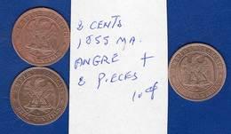 2 Cents  3  Pieces - France