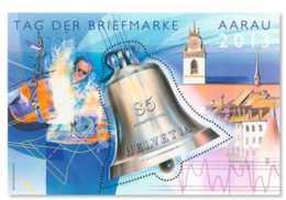 2013 Switzerland / Schweiz - Tage Der Briefmarke / Day Of Stamp -AARAU Bell - MS MNH ** Mi B 55 - Schweiz