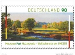 2012 Germany - Muzkauer Park - Joint Issue With Poland - 1 V MNH** MI 2944 - Ungebraucht