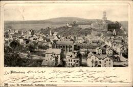 ALTE PASSEPARTOUT POSTKARTE DILLENBURG 31.12.1902 Ansichtskarte Postcard Cpa AK - Dillenburg