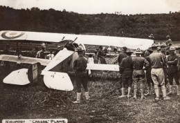 Avion De Chasse Nieuport WWI Aviation Ancienne Photo 1914-1918 - Guerre, Militaire