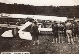 Avion De Chasse Nieuport WWI Aviation Ancienne Photo 1914-1918 - War, Military