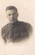 Minnesota Erskine Soldat Americain Edwin B Sorvig WWI Ancienne Carte Photo 1914-1918 - War, Military