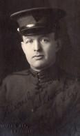 Grantham Portrait Homme En Uniforme YMCA? WWI Ancienne Carte Photo 1914-1918 - War, Military
