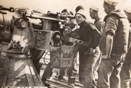 A Bord Du Navire De Guerre Americain USS Rambler WWI Ancienne Photo 1914-1918 - War, Military