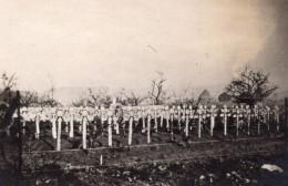 Cimetiere Americain Au Bois De Belleau Wood Tombes WWI Ancienne Photo 1918 - War, Military