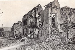 Chateau Thierry Maisons En Ruines WWI Ancienne Photo 1914-1918 - War, Military