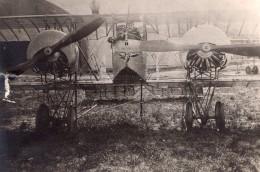 Avion Caudron G4 Biplan Militaire L'Aiglon Aviation WWI Ancienne Photo 1914-1918 - War, Military