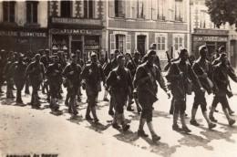 Liberation De Brest Soldats Americains? WWI Ancienne Photo 1914-1918 - War, Military
