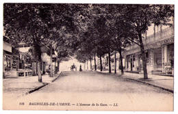 2806 - Bagnoles De L'Orne - L'Avenue De La Gare - L.L. - N°116 - - Bagnoles De L'Orne