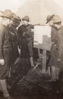 Camp De Troupes Americaines A Saint-Nazaire WWI Ancienne Photo 1914-1918 - War, Military