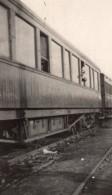 Homme A La Fenetre D'un Wagon De Train Le Havre Paris Ancienne Photo 1919 - Oorlog, Militair