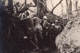 Poste D'Observation De L'Artillerie Francaise Tranchee WWI Ancienne Photo 1914-1918 - War, Military