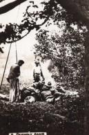 Soldats Americains? Au Repos WWI Ancienne Photo 1914-1918 - War, Military