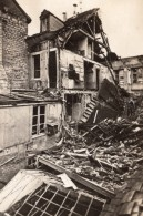 Rue De Reims En Ruines Apres Bombardement WWI Ancienne Photo 1914-1918 - War, Military