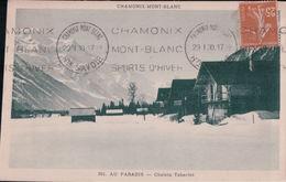 CHAMONIX-MONT-BLANC AU PARADIS Chalets Taberlet (1930) - Chamonix-Mont-Blanc