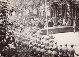 Grande Bretagne Regiment Australien Presentation De Drapeau WWI Ancienne Photo 1914-1918 - War, Military