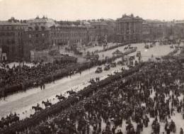 Foule A Versailles Signature De La Paix Armistice WWI Ancienne Photo 1918 - Guerre, Militaire