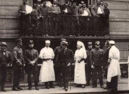 Paris Hopital Franco-Uruguayen Mission Militaire Uruguay WWI Ancienne Photo 1918 - Guerre, Militaire
