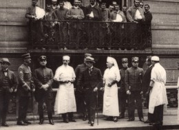 Paris Hopital Franco-Uruguayen Mission Militaire Uruguay WWI Ancienne Photo 1918 - War, Military