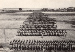 Defile De Troupes Americaines WWI Ancienne Photo 1918 - War, Military
