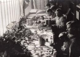 Travaux Des Mutiles Fabrication De Jouets WWI Ancienne Photo 1914-1918 - War, Military