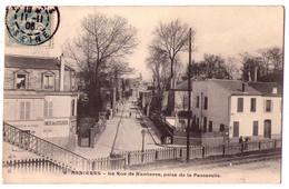 2807 - Asnières ( 92 ) - La Rue De Nanterre Prise De La Passerelle - H.S.A. - N°9 - - Asnieres Sur Seine