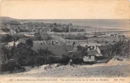 14 - DEAUVILLE-LA-PLAGE-FLEURIE - Vue Générale Prise De La Route De Honfleur - Deauville