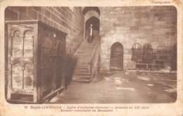 19 - Eglise D'AUBAZINE - Armoire Du XIIe Siècle - Escalier Conduisant Au Monastère - France