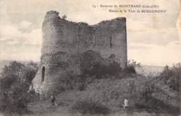 21 - Environs De MONTBARD - Ruines De La Tour De ROUGEMONT - Montbard