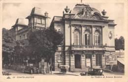 63 - CHATELGUYON - Le Théâtre Et Avenue Baraduc - Châtel-Guyon
